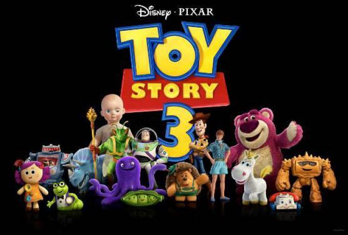 Il cast di Toy Story 3 al gran completo!