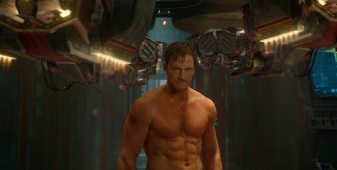 Chris Pratt in Guardiani della Galassia