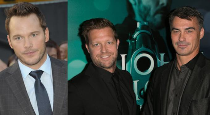 Chris Pratt, David Leitch e Chad Stahelski - Photo Credit: Chris.K / Brian To / WENN.com