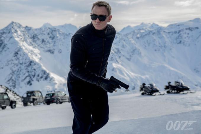 Daniel Craig, James Bond 007 in Spectre