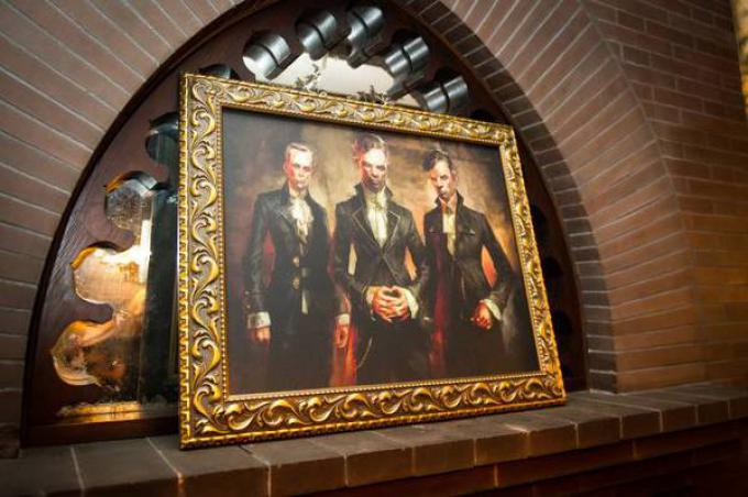 Dipinto di Sokolov raffigurante i gemelli Pendleton di Dishonored.