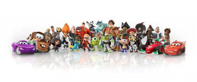 I personaggi di Disney Infinity