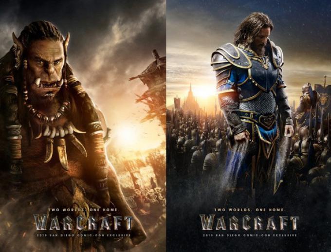 Durothan (Toby Kebbell) e Lothar (Travis Fimmel) in Warcraft