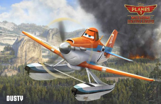 Dusty, il protagonista di Planes 2 - Missione antincendio