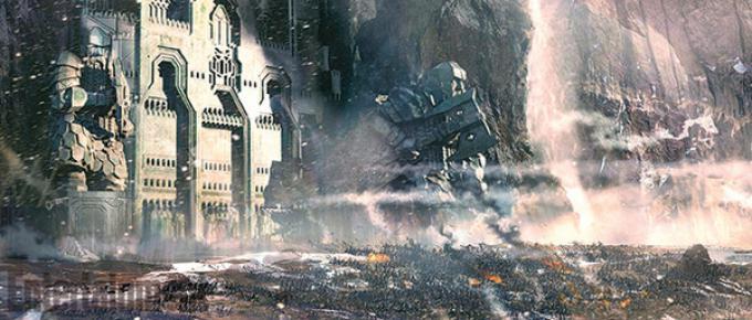 Concept art da Lo Hobbit: la battaglia delle cinque armate
