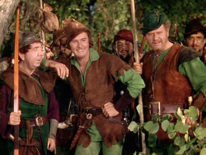 Errol Flynn protagonista de La leggenda di Robin Hood del 1938
