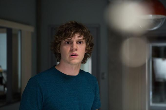 Evan Peters in The Lazarus Effect