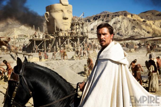 Christian Bale è Mosè in Exodus