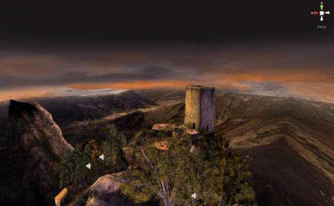 Uno screenshot da Nicola Eymerich, Inquisitore - Capitolo II: Il Villaggio