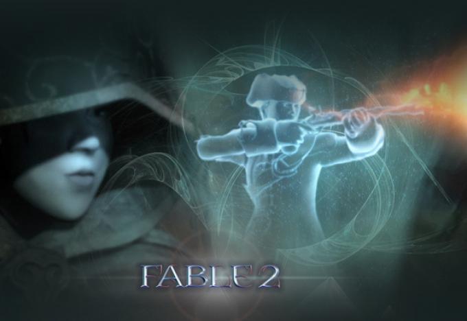 Suggestive immagini promozionali di Fable 2