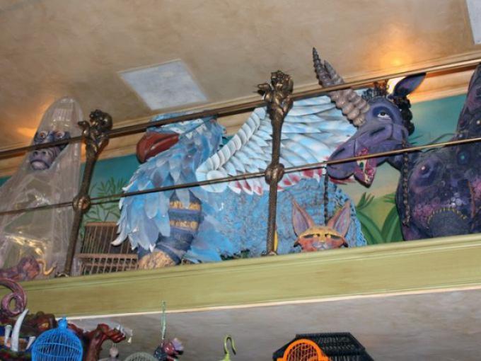 Gli animali fantastici al Diagon Alley theme park