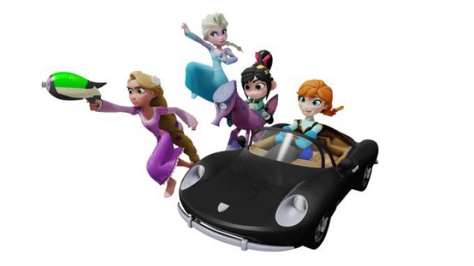 Personaggi femminili di Disney Infinity