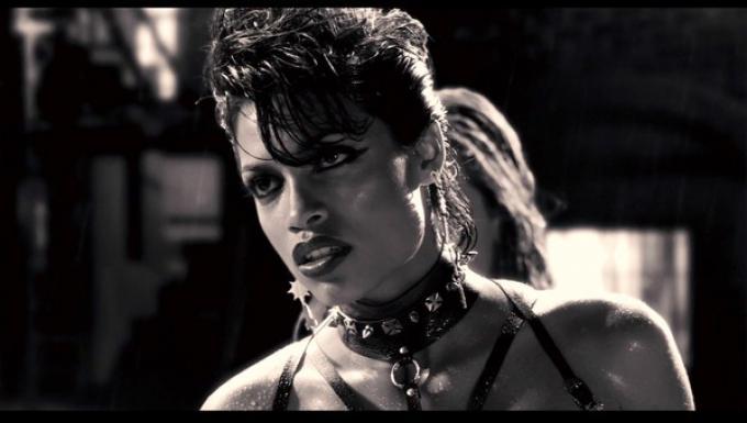 Rosario Dawson in Sin City