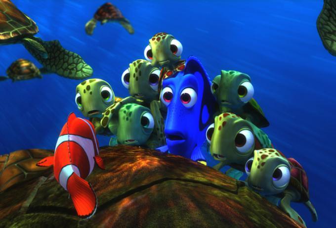 Una immagine da Alla ricerca di Nemo