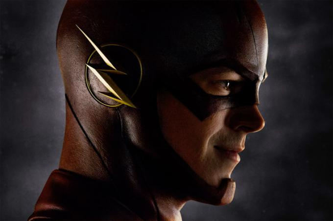 Grant Gustin è Barry Allen/Flash