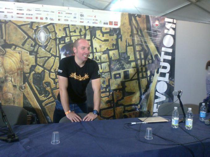 Gaz Deaves presenta Arkham Knights a Lucca Games