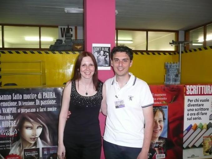 Irene Vanni e Francesco Spagnuolo ai Delos Day 2011
