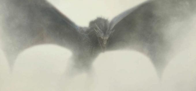 Un particolare del poster della quinta stagione di Game of Thrones