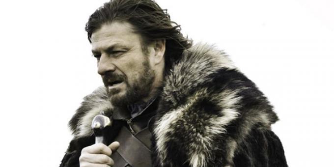Sean Bean è Eddard Stark