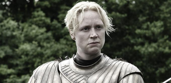 Gwendoline Christie è Brienne di Tarth