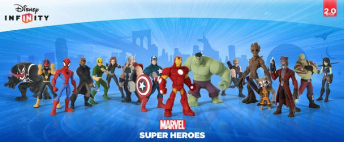 La lineup di Disney Infinity 2.0: Marvel Super Heroes