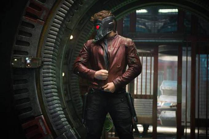 Chris Pratt nei panni di Star-Lord