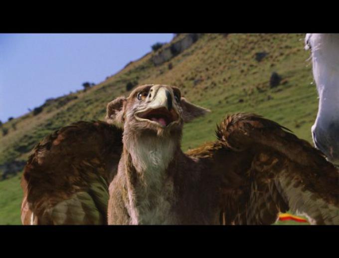Il grifone delle Cronache di Narnia al cinema