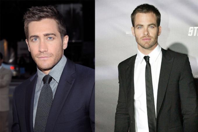 Jake Gyllenhaal e Chris Pine