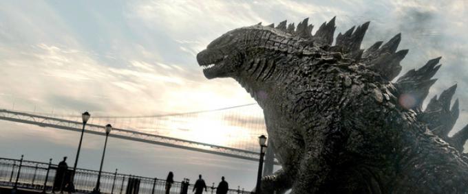 Una immagine da Godzilla