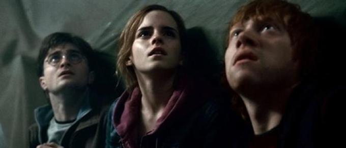 Harry, Hermion e Ron sconvolti dalle rivelazioni di J.K. Rowling