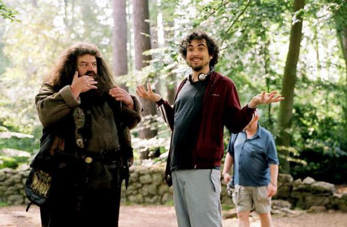 Alfonso Cuarón sul set di Harry Potter e il prigioniero di Azkaban