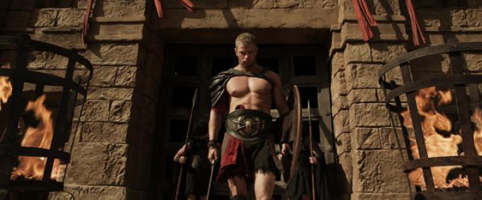 Kellan Lutz in Hercules: la leggenda ha inizio
