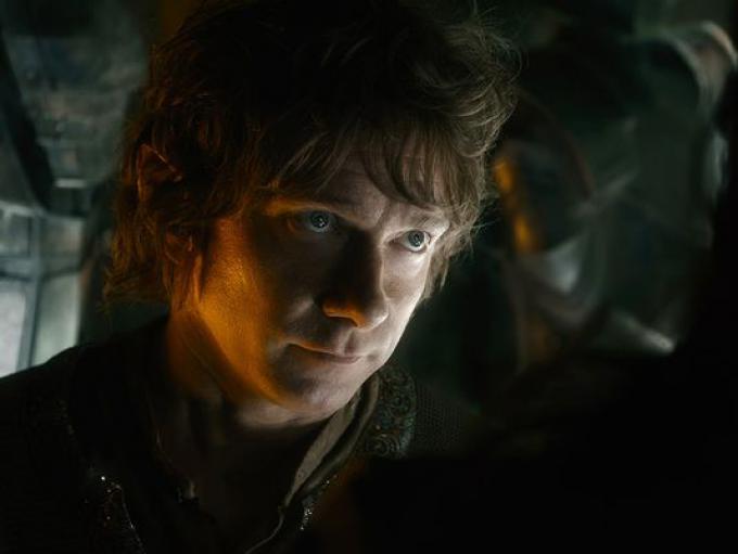 Martin Freeman in Lo Hobbit: la battaglia delle cinque armate