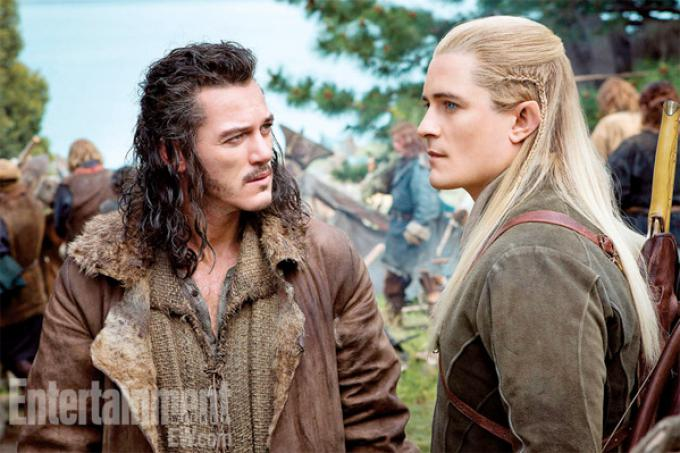 Bard e Legolas in Lo Hobbit