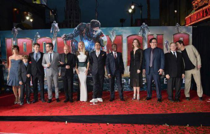 Il cast di Iron Man 3