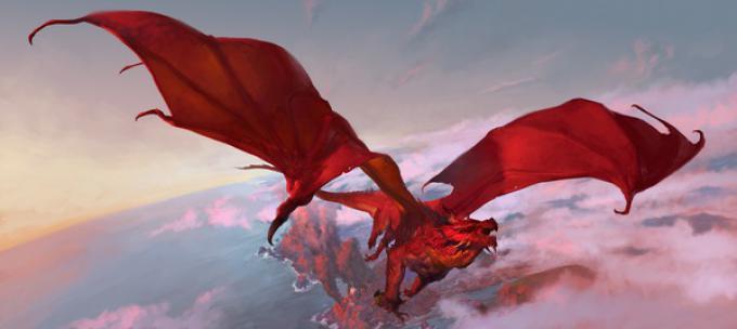 Illustrazione realizzata da Tyler Jacobson per la campagna Tyranny of Dragons della quinta edizione di Dungeons & Dragons