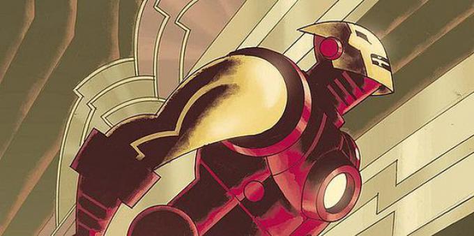 Iron Man in un disegno di Eric Canete
