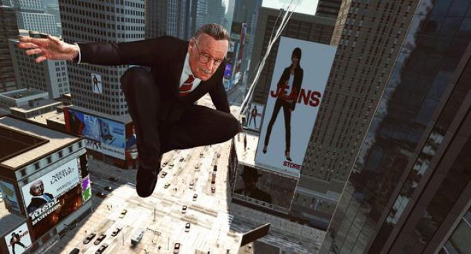 Stan Lee sui tetti di New York!
