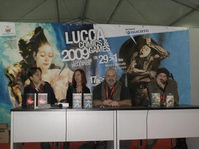 Da sinistra Emanuele Vietina, Cristiana Astori, Sergio Altieri, Francesco Ciampi
