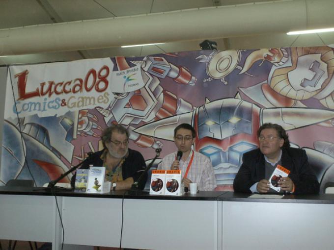 Da sinistra verso destra Massimo Mongai,  Alberto Panicucci, Donato Altomare.