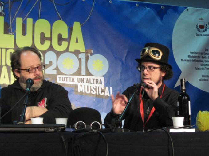 Luca Volpino e Francesco Dimitri