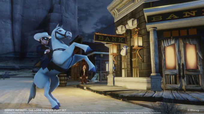 Lone Ranger in Disney Infinity