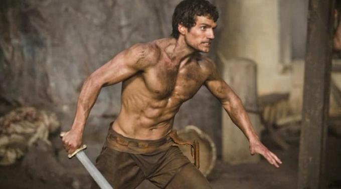 Henry Cavill è Teseo in Immortals