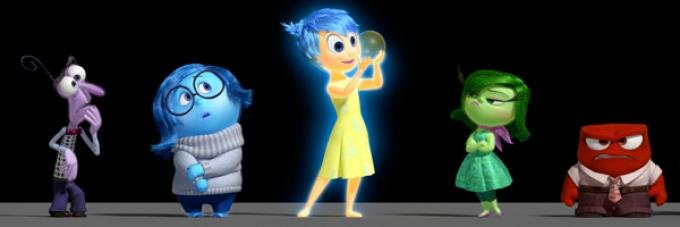 I personaggi, protagonisti di Inside Out