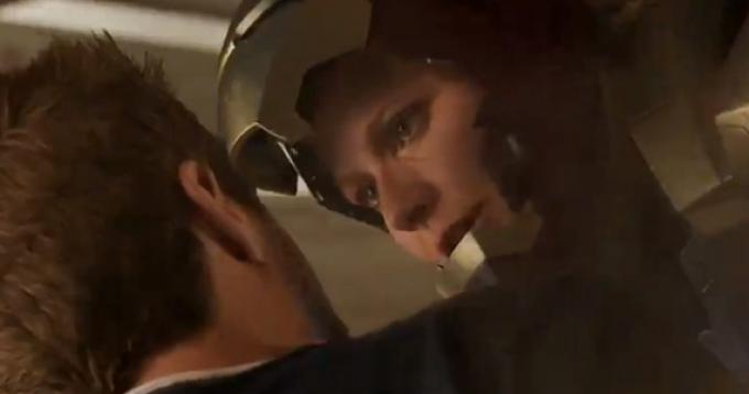 Robert Downey Jr. e Gwyneth Paltrow in Iron Man 3