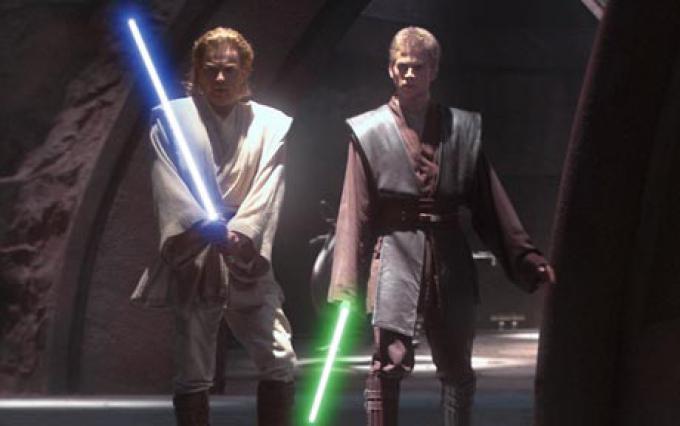 Obi Wan Kenobi e Anakin Skywalker