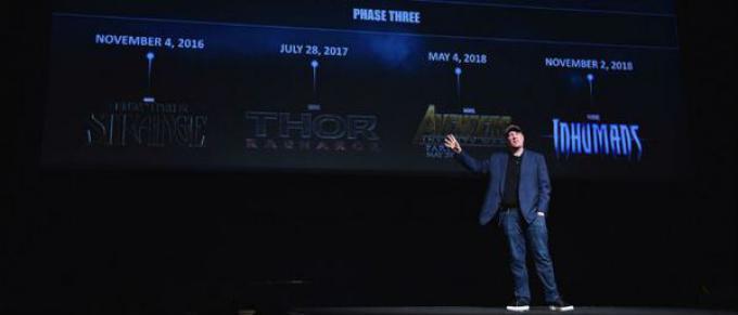 Kevin Feige parla del futuro del Marvel Cinematic Universe