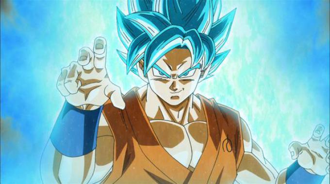 Goku, il mitico super sayan protagonista di Dragon Ball e Dragon Ball Z