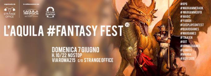La locandina di l'Aquila Fantasy Fest 2015