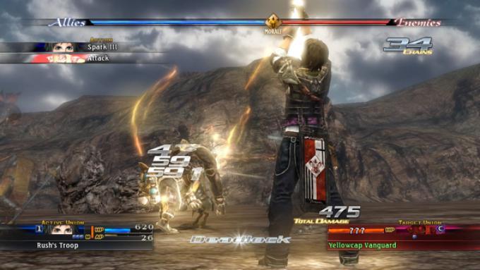 Una spettacolare schermata del gioco.